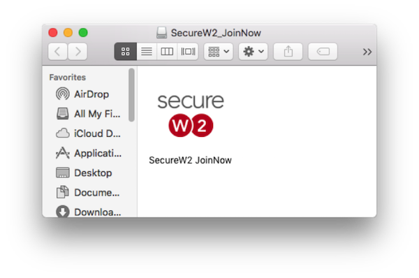 Secure W2 JoinNow screenshot